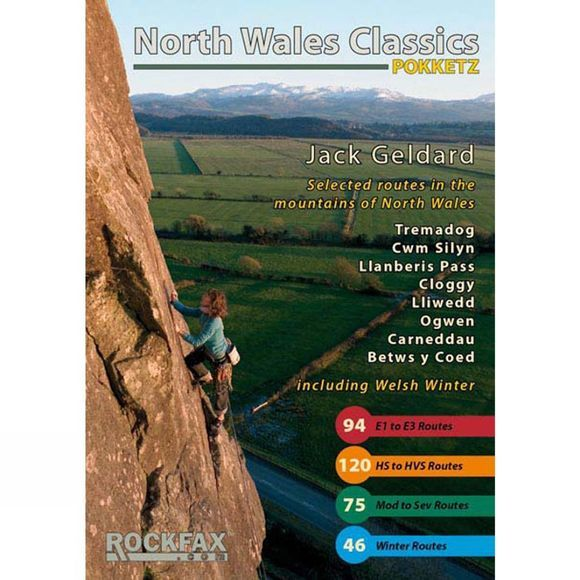 Rockfax North Wales Classics Pocket Guide Book No Colour