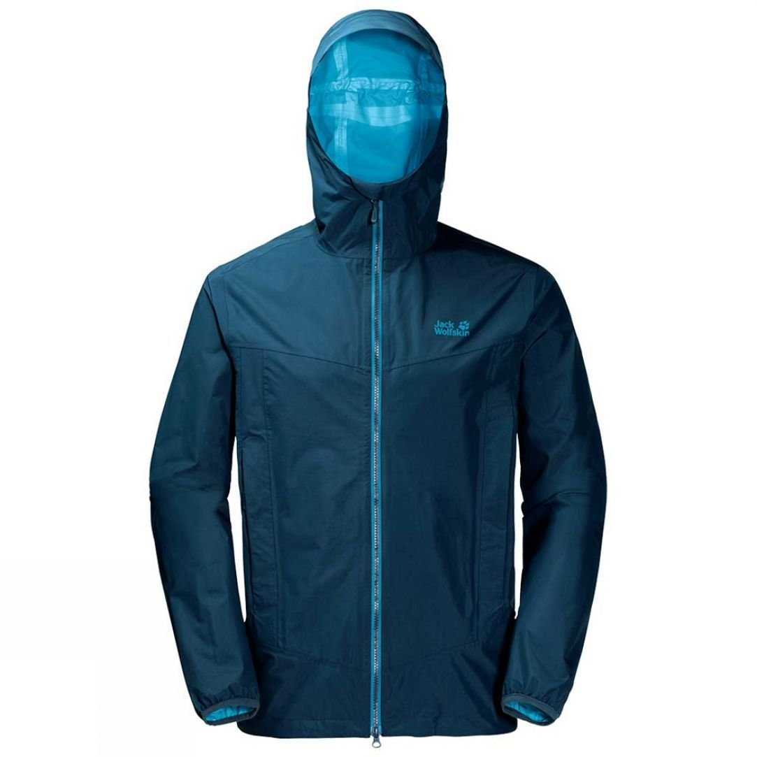 Jack Wolfskin Mens Colourburst Jacket | Price Match + 3 Year
