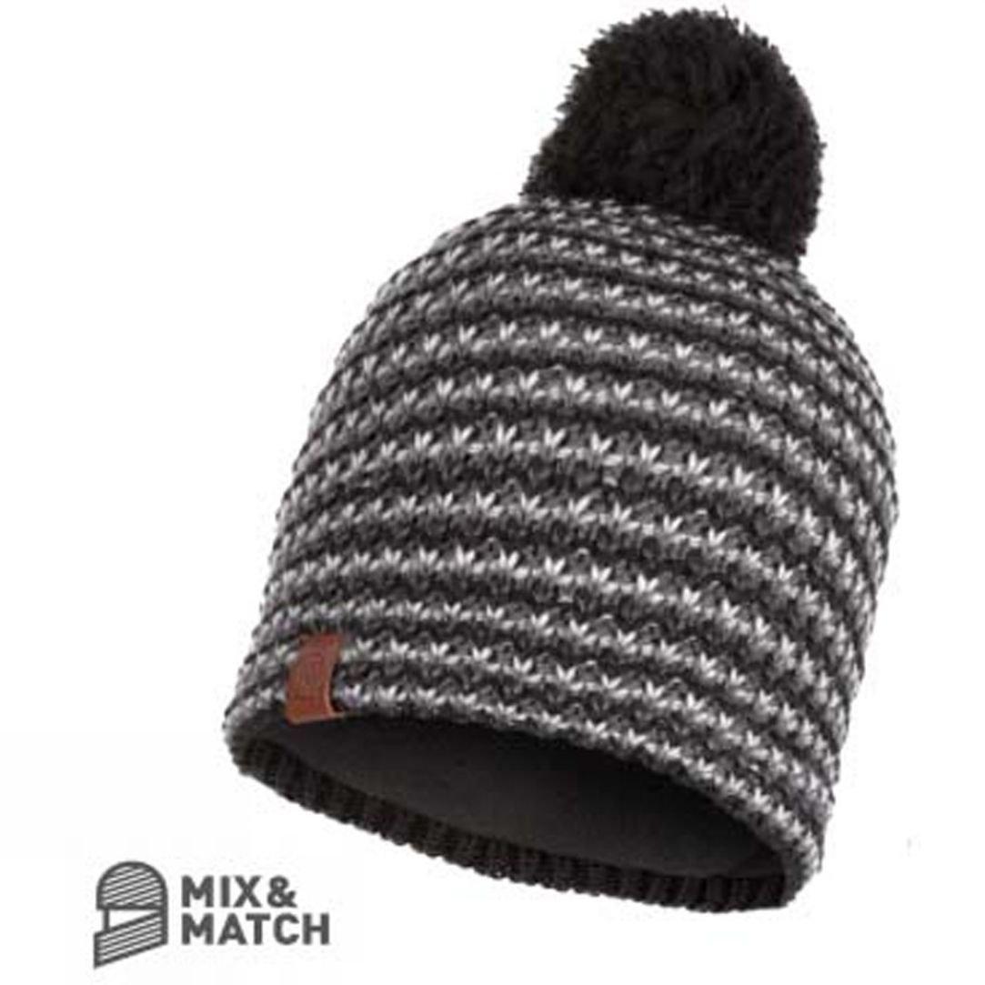 17b5fa53d84 Buff Mens Dana Knitted and Polar Fleece Hat