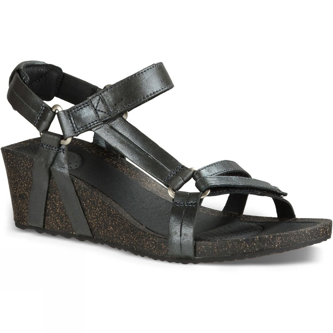 b52a557444f3 Teva Womens Ysidro Universal Wedge Metallic Sandal