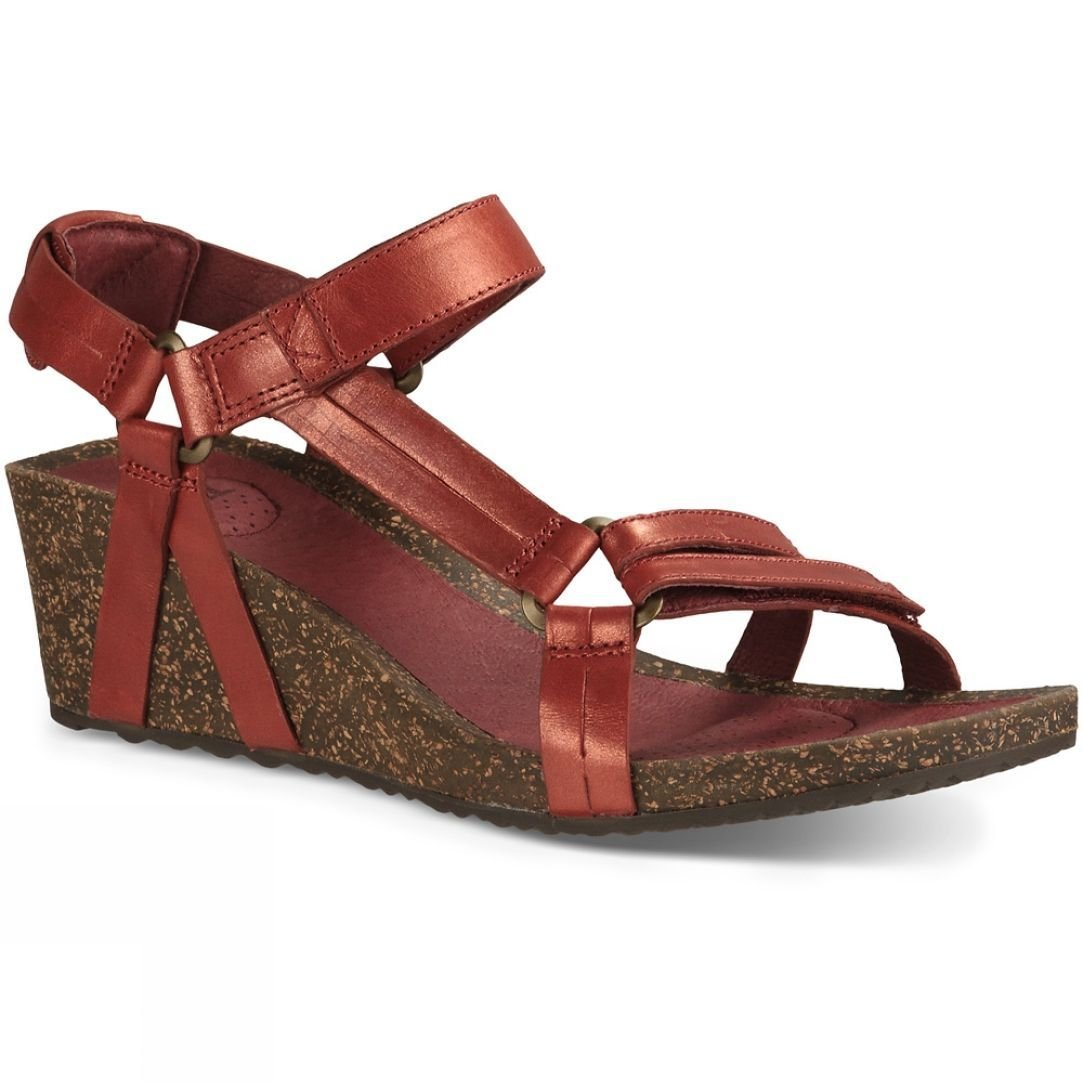 6c409f29ac6 Teva Womens Ysidro Universal Wedge Metallic Sandal